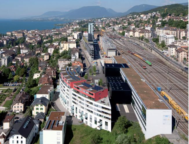 Quartier ECOPARC à Neuchâtel